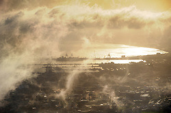 Cape Town - 180723 - A view of Cape Town's CBD during sunrise from Kloof Corner. Picture: Armand Hough / African News Agency (ANA)