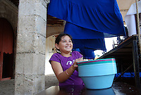 """Mexico, Yucatan Peninsula, October 16-23, 2010. Nothing says """"bienvenido"""" more than a smile, and in these people of Yucatan, Campeche and Quintana Roo they seem, much like the clear blue waters of the """"cenotes,"""" to run through and underlie every aspect of life."""