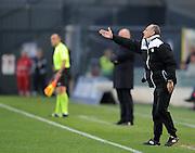 Udine, 31 marzo 2014.<br /> Serie A 2013/2014. 31^ giornata.<br /> Stadio Friuli<br /> Udinese vs Catania.<br /> Nella foto: Francesco Guidolin, allenatore Udinese.<br />  © foto di Simone Ferraro