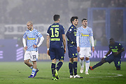 Foto LaPresse/Filippo Rubin<br /> 26/12/2018 Ferrara (Italia)<br /> Sport Calcio<br /> Spal - Udinese - Campionato di calcio Serie A 2018/2019 - Stadio &quot;Paolo Mazza&quot;<br /> Nella foto: DELUSIONE SPAL<br /> <br /> Photo LaPresse/Filippo Rubin<br /> December 26, 2018 Ferrara (Italy)<br /> Sport Soccer<br /> Spal vs Udinese - Italian Football Championship League A 2018/2019 - &quot;Paolo Mazza&quot; Stadium <br /> In the pic: SPAL DISAPPOINTMENT