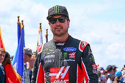 July 29, 2018 - Long Pond, PA, U.S. - LONG POND, PA - JULY 29:  Monster Energy NASCAR Cup Series driver Kurt Busch Haas Automation Ford (41) during driver introductions prior to the Monster Energy NASCAR Cup Series - 45th Annual Gander Outdoors 400 on July 29, 2018 at Pocono Raceway in Long Pond, PA. (Photo by Rich Graessle/Icon Sportswire) (Credit Image: © Rich Graessle/Icon SMI via ZUMA Press)
