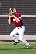 February 25, 2012: Boston College outfielder Andrew Lawrence (14)  during non conference NCAA baseball game action between the Boston College Eagles and the Central Florida Knights. Boston defeated UCF in game 2 8-7 at Jay Bergman Field in Orlando, FL