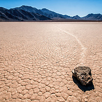 The famous Racetrack from Death Valley National Park