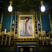Freer Gallery of Art Peacock Room Painting. Originally part of a London dining room and redecorated by American expatriat artist James McNeill Whistler, the Peack Room has been reinstalled as a room in the Freer Gallery of Art. The Freer Gallery of Art, on Washington DC's National Mall, joined the Arthur M. Sackler Gallery to form the Smithsonian Institution's Asian art gallery. The Freer Gallery contains a sizeable collection of Asian art, but also has a major collection of works by James McNeill Whistler.
