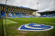The Fratton Park Pitch during the Sky Bet League 2 match between Portsmouth and Hartlepool United at Fratton Park, Portsmouth, England on 12 December 2015. Photo by Adam Rivers.