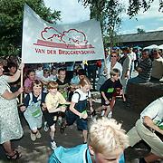 Start sponsorloop van der Brugghenschool Huizen