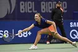 April 14, 2017 - Biel, Schweiz - 14.04.2017; Biel; Tennis; Ladies Open Biel 2017; Anett Kontaveit (EST). © Valeriano Di Domenico  (Credit Image: © Valeriano Di Domenico/EQ Images via ZUMA Press)
