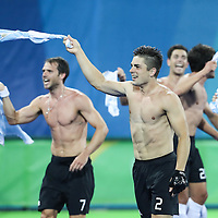 Gold medal match: Belgium - Argentina