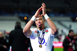 Anthony Watson of England - Mandatory byline: Patrick Khachfe/JMP - 07966 386802 - 19/03/2016 - RUGBY UNION - Stade de France - Paris, France - France v England - RBS Six Nations.