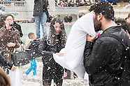 4 Apr.2015 - The 7th annual International pillow fight day - Trafalgar Square