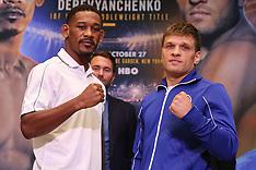 October 24, 2018: Jacobs vs Derevyanchenko Final Press Conference