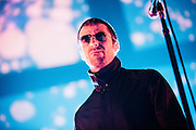 Liam Gallagher/Beady Eye performing live at the Rockhal concert venue in Luxembourg, Europe on February 21, 2014