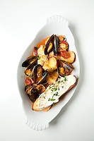Bouillabaisse at Brasserie by Niche in St. Louis for St. Louis Magazine.