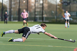 Teddington v Southgate - Men's Hockey League East Conference, Teddington School, London, UK on 19November 2017. Photo: Simon Parker