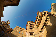 Golden City Jaisalmer in Rajasthan state of India