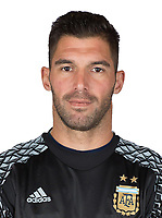 Conmebol - World Cup Fifa Russia 2018 Qualifier / <br /> Argentina National Team - Preview Set - <br /> Mariano Andujar