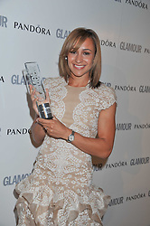 JESSICA ENNIS at the Glamour Women of The Year Awards 2011 held in Berkeley Square, London W1 on 7th June 2011.