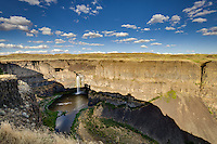 Photography of the water fall and the surrounding region at Palouse Falls State Park.  Palouse Falls is the official waterfall of Washington State.<br /> <br /> &copy;2016, Sean Phillips<br /> http://www.RiverwoodPhotography.com