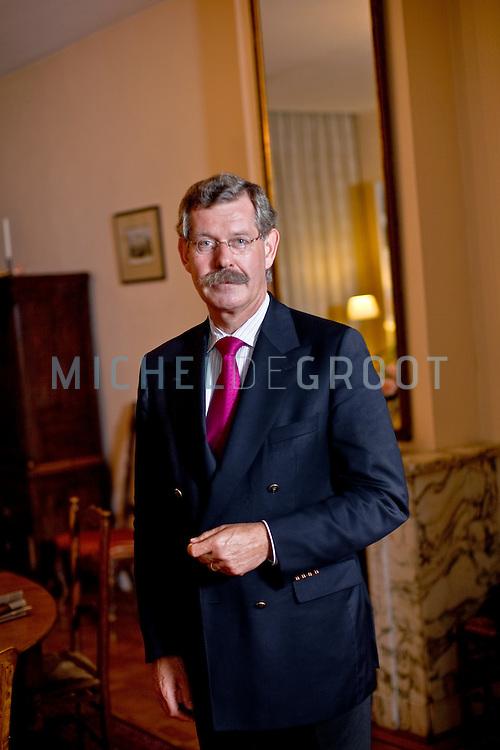 Mr. F.W.H. (Erik) van den Emster, voorzitter van de Raad voor de Rechtspraak. in Rotterdam, The Netherlands on 08 October, 2008.  (Photo by Michel de Groot)
