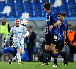 September 14, 2017 - Reggio Emilia, Italy - Wayne Rooney of Everton  during the UEFA Europa League Group E football match Atalanta vs Everton at The Stadio Città del Tricolore in Reggio Emilia on September 14, 2017. (Credit Image: © Matteo Ciambelli/NurPhoto via ZUMA Press)