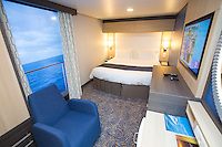Royal Caribbean International launches Quantum of the Seas, the newest ship in the fleet, in November 2014