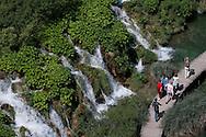 Plitvicka jezera (Plitvice lakes) national park, a UNESCO World Heritage Site, Croatia