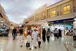 Interior of Villaggio shopping mall in Doha Qatar