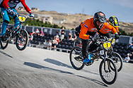 25-29 Men #1 (VAN DER KOLK Robin) NED during practice at the 2018 UCI BMX World Championships in Baku, Azerbaijan.