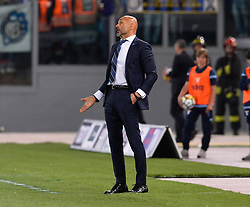 May 20, 2018 - Rome, Italy - Luciano Spalletti during the Italian Serie A football match between S.S. Lazio and F.C. Inter at the Olympic Stadium in Rome, on may 20, 2018. (Credit Image: © Silvia Lore/NurPhoto via ZUMA Press)