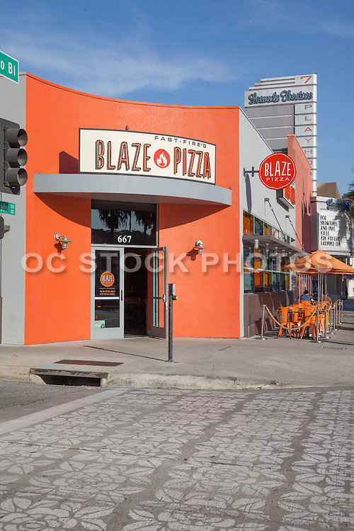 Blaze Pizza on Colorado Boulevard Pasadena