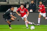 ALKMAAR - 19-12-2015, AZ - FC Utrecht, AFAS Stadion, 2-2, FC Utrecht speler Patrick Joosten, AZ speler Joris van Overeem