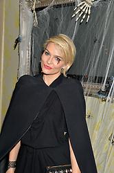 EMMA O'BYRNE at the Bumpkin Halloween Dinner hosted by Marissa Hermer held at Bumpkin, 119 Sydney Street, London on 23rd October 2014.