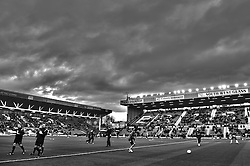 Wolves players warm up before the first half of the match - Photo mandatory by-line: Rogan Thomson/JMP - Tel: Mobile: 07966 386802 01/12/2012 - SPORT - FOOTBALL - Ashton Gate - Bristol. Bristol City v Wolverhampton Wanderers - npower Championship.