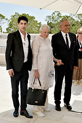'The Aspern Papers' photocall during the 75th Venice Film Festival. 30 Aug 2018 Pictured: Julien Landais, Vanessa Redgrave, Alberto Barbera. Photo credit: M. Angeles Salvador/MEGA TheMegaAgency.com +1 888 505 6342