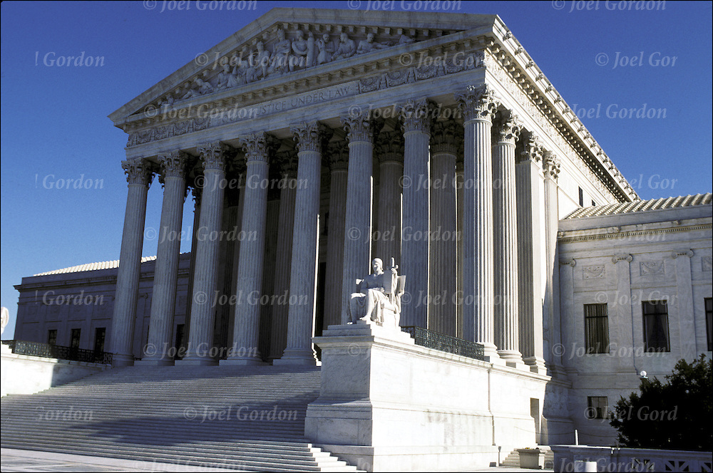 "U.S. Supreme Court Buildign - ""Equal Justice Under the Law"" - Washington, D.C."