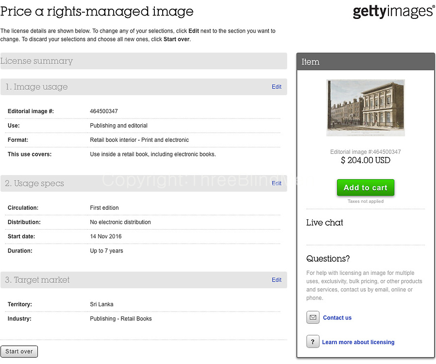 Mincing Lane from Getty Images $204