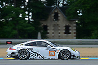 Cooper Mac Neil (USA) / Lehman KEEN (USA) / Marc Miller (USA)  #89 Proton Competition Porsche 911 RSR,  during Le Mans 24 Hr June 2016 at Circuit de la Sarthe, Le Mans, Pays de la Loire, France. June 15 2016. World Copyright Peter Taylor/PSP. Copy of publication required for printed pictures.  Every used picture is fee-liable. http://archive.petertaylor-photographic.co.uk