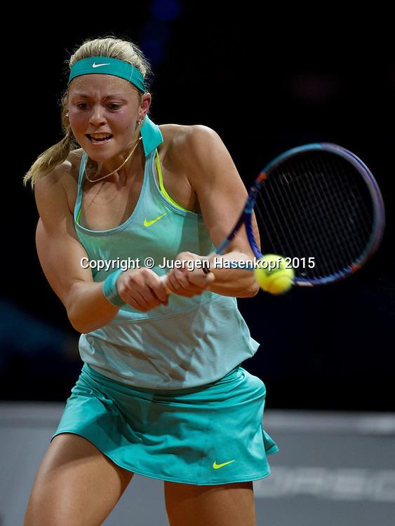 Carina Witthoeft (GER), <br /> Tennis - Porsche Grand Prix - WTA -   - Stuttgart -  - Germany  - 20 April 2015. <br /> &copy; Juergen Hasenkopf