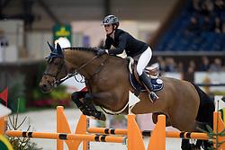 Martin Maelle, FRA, Giovani de la Pomme<br /> Credit Suisse Grand Prix<br /> CHI de Genève 2016<br /> © Hippo Foto - Dirk Caremans<br /> 08/12/2016