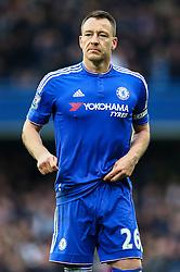 John Terry of Chelsea during the match - Mandatory byline: Jason Brown/JMP - 19/03/2016 - FOOTBALL - London, Stamford Bridge - Chelsea v West Ham United - Barclays Premier League
