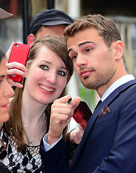 Theo James attends the European premiere of 'Divergent' , Odeon, London, United Kingdom. Sunday, 30th March 2014. Picture by Nils Jorgensen / i-Images