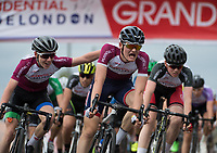 Finley Newmark wins the Prudential RideLondon Youth Grand Prix - Youth A Boys. Prudential RideLondon 28/07/2017<br /> <br /> Photo: Tom Lovelock/Silverhub for Prudential RideLondon<br /> <br /> Prudential RideLondon is the world's greatest festival of cycling, involving 100,000+ cyclists – from Olympic champions to a free family fun ride - riding in events over closed roads in London and Surrey over the weekend of 28th to 30th July 2017. <br /> <br /> See www.PrudentialRideLondon.co.uk for more.<br /> <br /> For further information: media@londonmarathonevents.co.uk