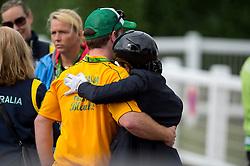 Nicole Blanks, (AUS), Vledder - Individual Test Grade IV Para Dressage - Alltech FEI World Equestrian Games™ 2014 - Normandy, France.<br /> © Hippo Foto Team - Jon Stroud <br /> 25/06/14