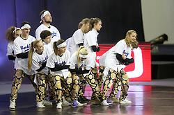 Bedetti & Dell'omo of Starcheers at ECU European Cheerleading Championships 2015 on June 27th 2015, in Hala Tivoli, Ljubljana. Photo by Matic Klansek Velej / Sportida