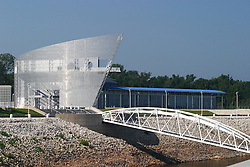 25 July 2005:   Tunica River Park Museum complex