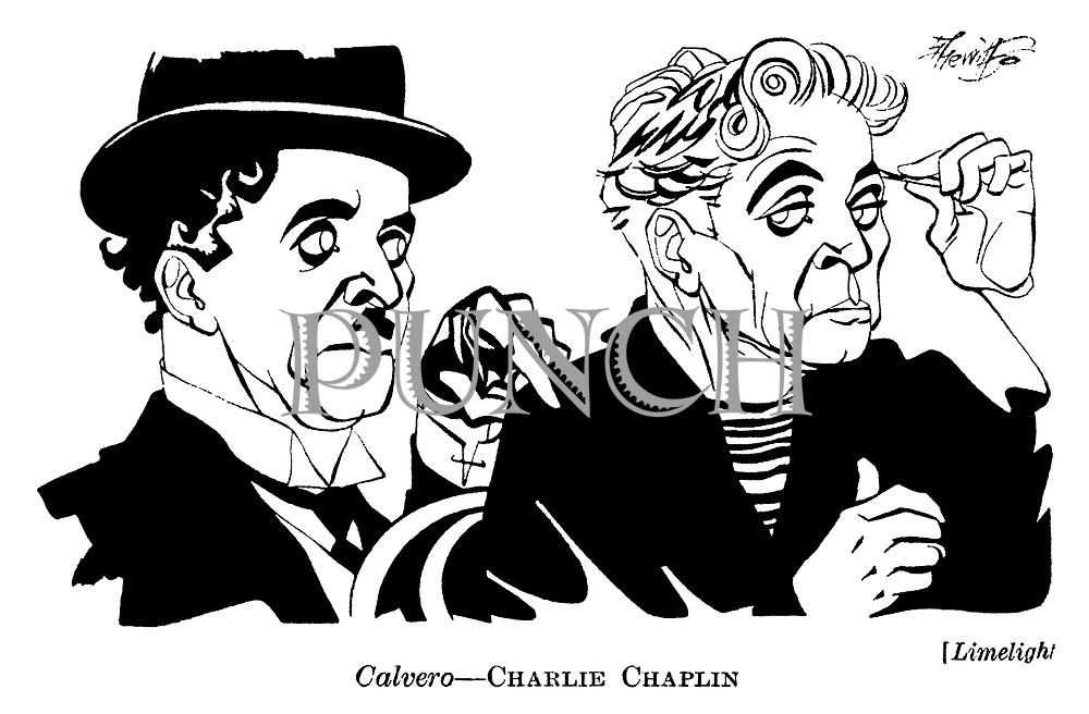 Limelight ;  Charlie Chaplin