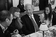 A.A. GILL; JEMIMA KHAN; GRAYDON CARTER; PIPPA MIDDLETON, Vanity Fair Lunch hosted by Graydon Carter. 34 Grosvenor Sq. London. 14 May 2013