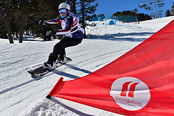 Europa Cup Finals Banked Slalom, ROUNDY Nicole, USA at the 2016 IPC Snowboard Europa Cup Finals and World Cup