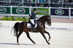 Nicole Blanks, (AUS), Vledder - Freestyle Test Grade IV Para Dressage - Alltech FEI World Equestrian Games™ 2014 - Normandy, France.<br /> © Hippo Foto Team - Leanjo de Koster<br /> 25/06/14