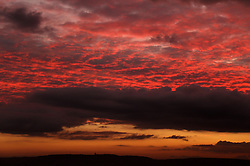 © Licensed to London News Pictures. 06/11/2014. Somerset, UK Sunrise over King Alfreds Tower in Somerset today 6th November. Photo credit : Jason Bryant/LNP